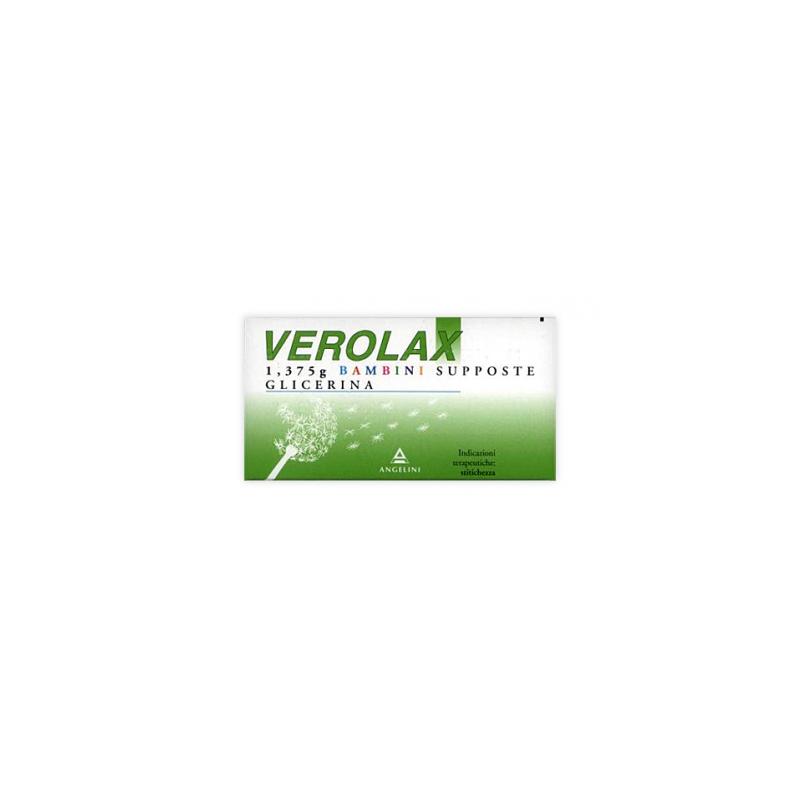 Verolax Bambini 18 supposte 1,375g