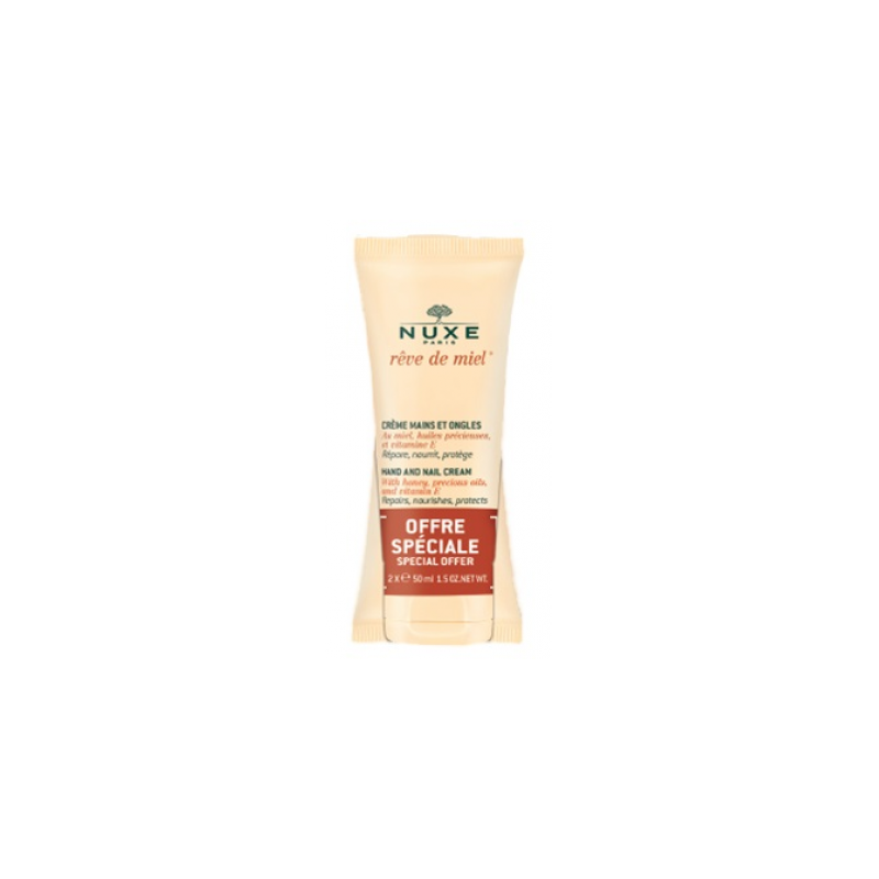 Nuxe Duo Creme Mains Et Ongles 2x50ml