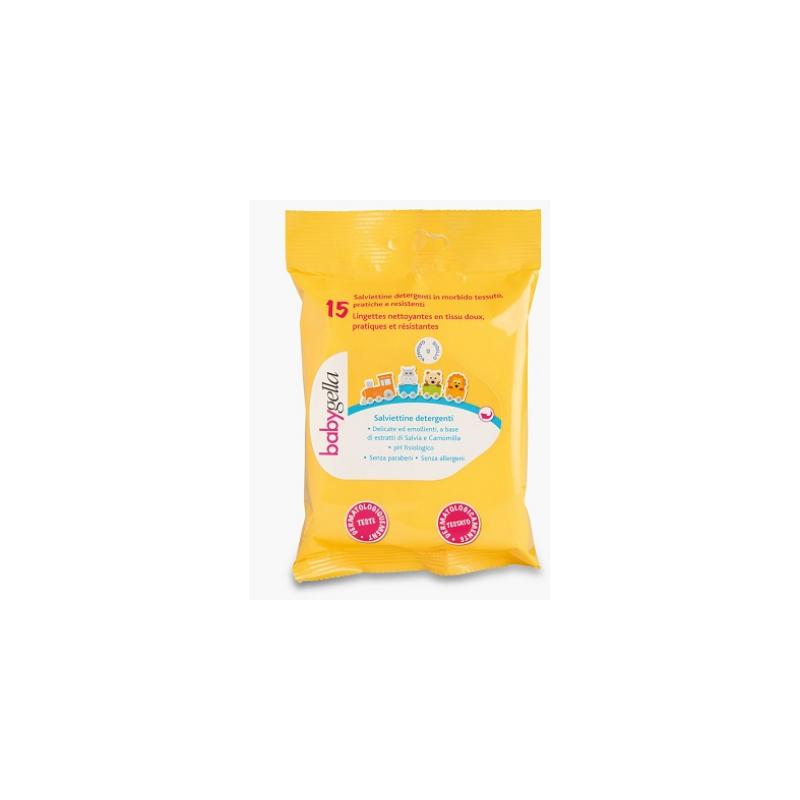 Babygella Salviettine Detergenti Per 15