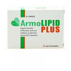 Meda Pharma Spa - ARMOLIPID PLUS 20 COMPRESSE INTEGRATORE PER ABBASSARE IL COLESTEROLO - 904648060