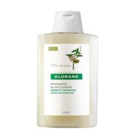 Klorane Shampoo Latte Mandorla 400 Ml - volumizzante