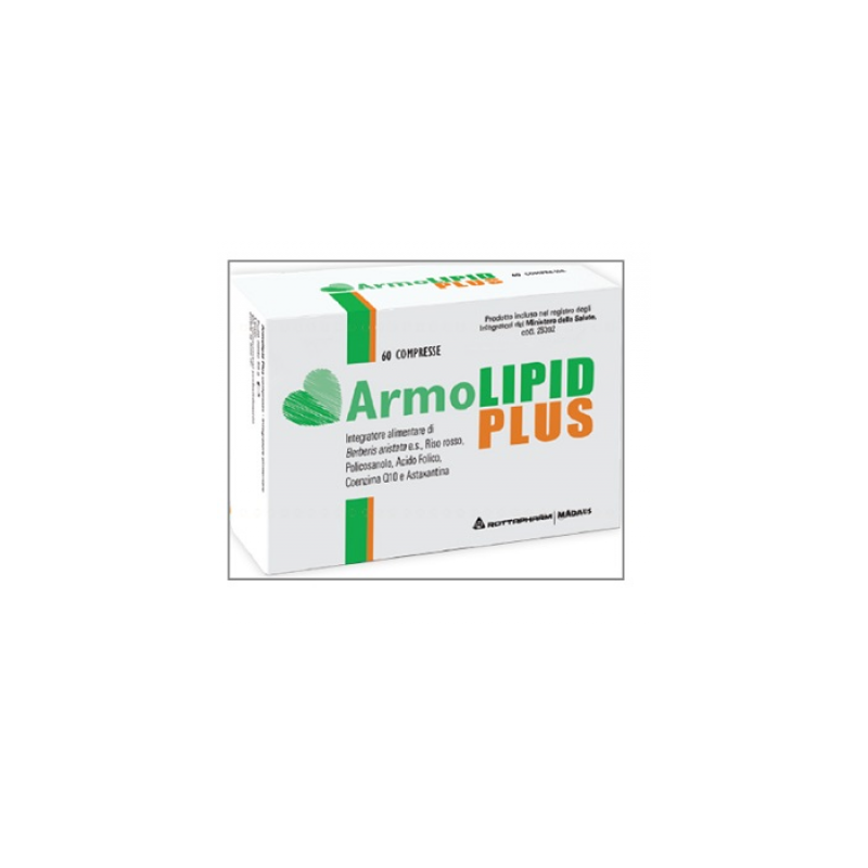 Meda Pharma Spa - ARMOLIPID PLUS INTEGRATORE PER ABBASSARE COLESTEROLO 60 COMPRESSE - 935688945