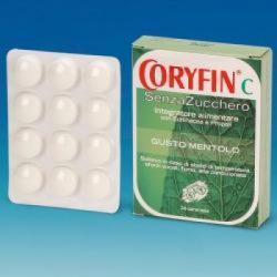 Sit Laboratorio Farmaceutico - Coryfin C Senza Zucchero Mentolo 48 G - 937495479