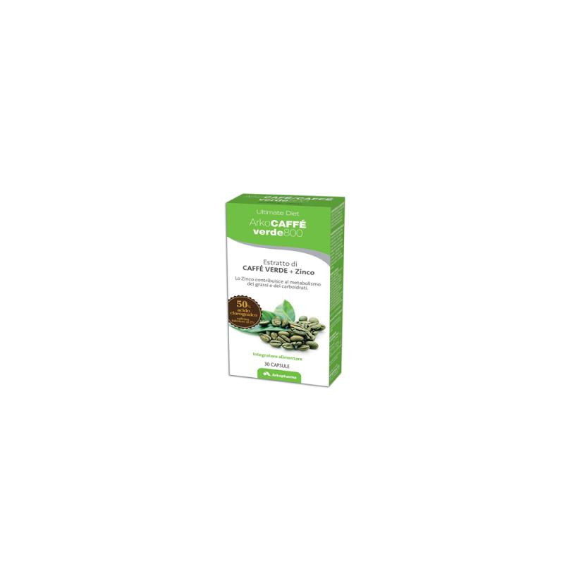 Arkopharma - Arkocaffe' Verde 800 30 Capsule - 925374769