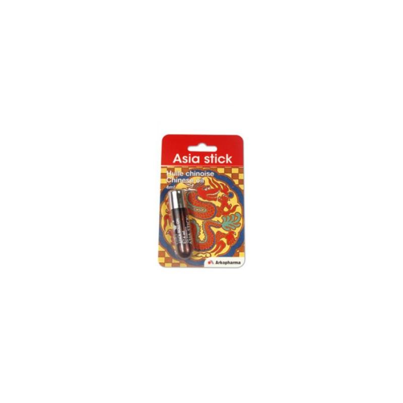 Arkopharma - Asia Stick Olio Cinese Essenziale Dermatologico 4 Ml - 904334620