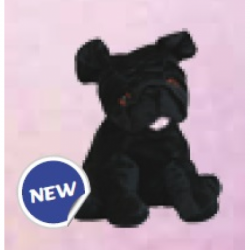 Warmies - Warmies Peluche riscaldabile Carlino Nero - 927144131