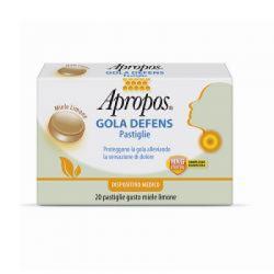 DESA PHARMA SRL - Apropos Gola Defens Pastiglie Miele/limone 20 Pastiglie - 924127057