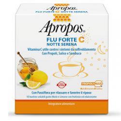 - Apropos Flu Forte C Notte Serena 10 Bustine - 932027028