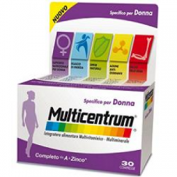 Multicentrum - Multicentrum Donna 30 Compresse - 931449425