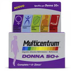 Multicentrum - Multicentrum Donna 50+ 30 Compresse - 932236185