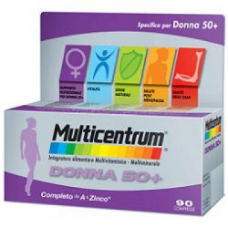 Multicentrum - Multicentrum Donna 50+ 90 Compresse - 933541575