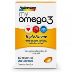 Pfizer - Multicentrum My Omega3 60 Capsule 善存深海鱼油60粒 - 933514135