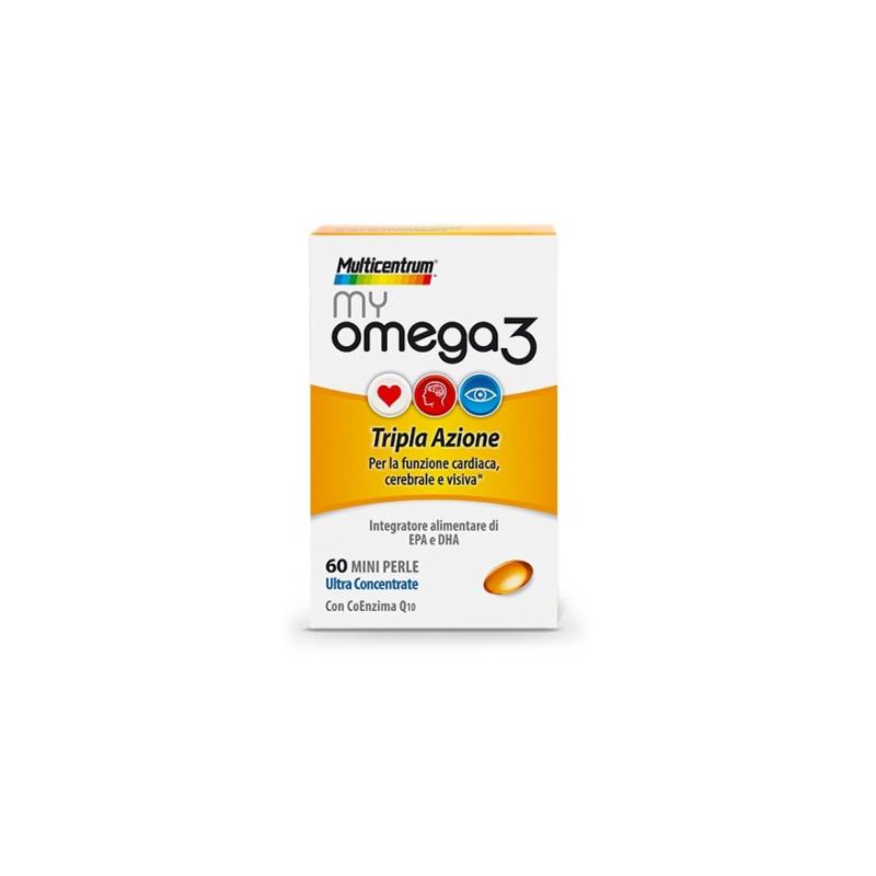 Pfizer - Multicentrum My Omega3 60 Capsule - 933514135