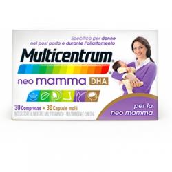 Pfizer - Multicentrum Neo Mamma Dha 30 Compresse + 30 Capsule Molli - 934825441