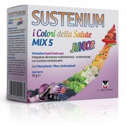 Sustenium - Sustenium Colori Della Salute Mix 5 Junior Promo 14 Bustine - 927586735