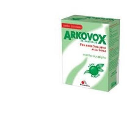 Arkovox Menta/eucalipto 24 Caramelle