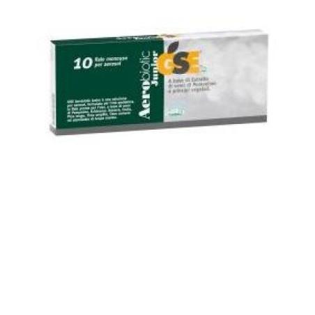 Gse Aerobiotic Junior 10 flaconcini Da 50 ml