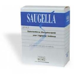 Saugella - Saugella Salviettine Detergenti Deodoranti 10 Bustine - 908960800