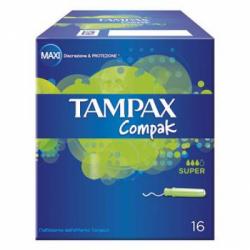 Tampax - Tampax Compak Super 16 Pezzi - 906048576