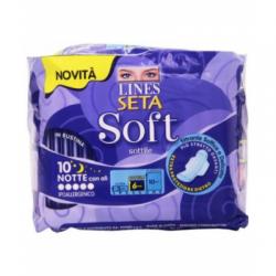 Lines - Lines Seta Soft Notte 10 Pezzi - 926117084
