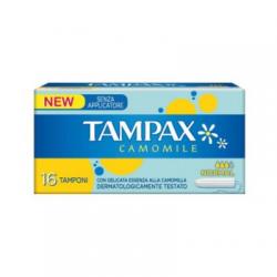 Tampax - Tampax Camomile Senza Applicatore Normal Scatola 16 Pezzi - 925821795