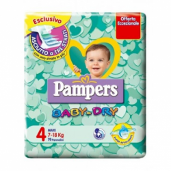 Pampers - Pampers Baby Dry Maxi 7-18 kg - 925944682