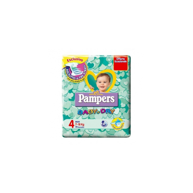 Pampers Baby Dry Maxi 7-18 kg