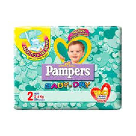Pampers Baby-Dry Mini tg 2