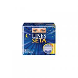 Lines - Assorbenti Igienici Femminili Lines Seta Ultra Notte 8 Pezzi - 926251303