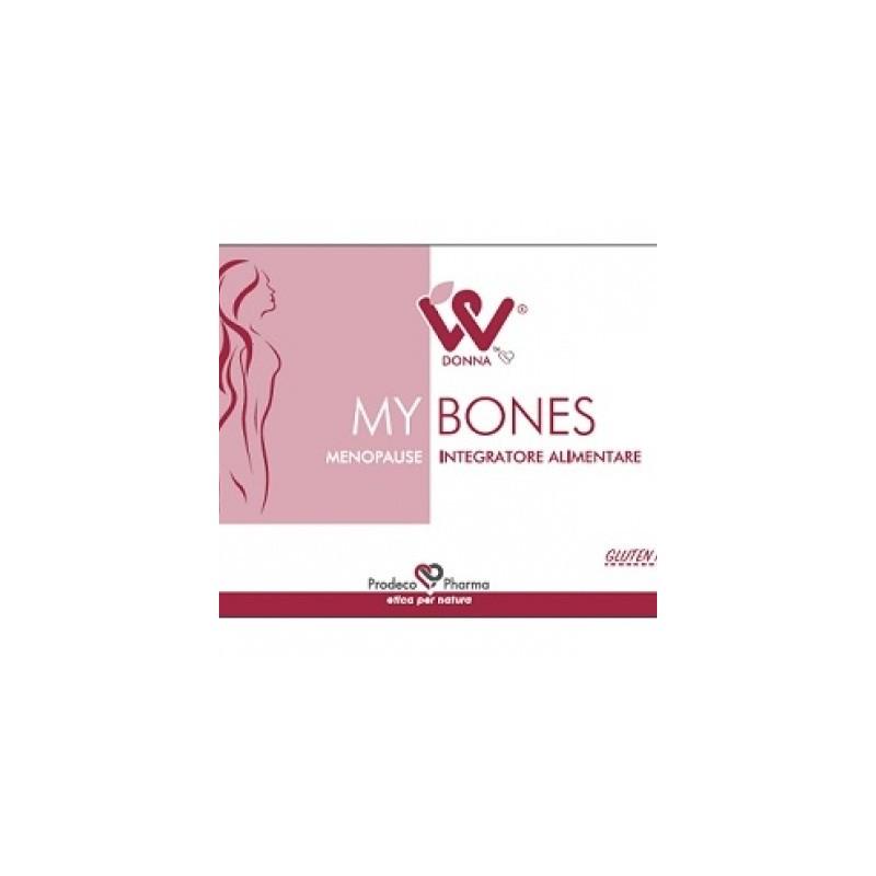 Donna W - Donna W My Bones Menopausa 4 Blister Da 15 Compresse - 970418796