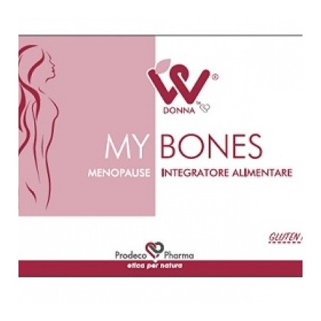 Donna W My Bones Menopausa 4 Blister Da 15 Compresse