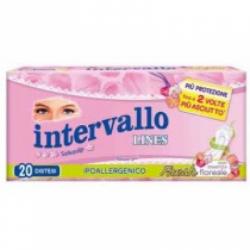 Lines - Proteggislip Intervallo Fresh Ripiegato 20 Pezzi - 926623846