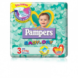 Pampers - Pampers Baby-Dry Midi - 927135638