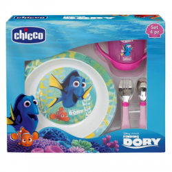 Chicco - Chicco Set Pappa Dory Rosa 18+ - 971308186