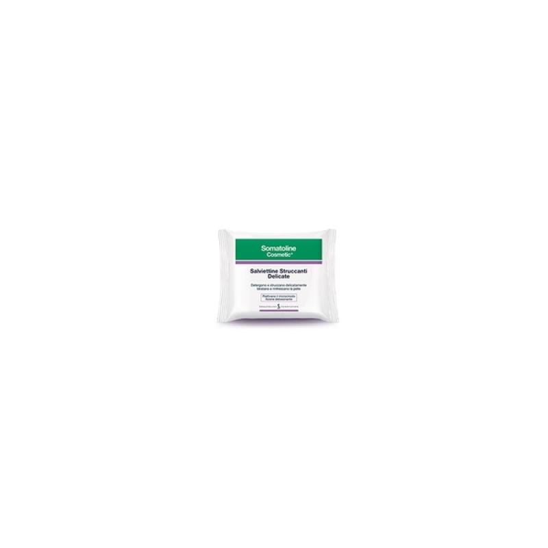 Somatoline Cosmetic Salviettine Struccanti 20 Pezzi
