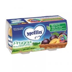 Mellin - Mellin Omogeneizzato Prugna Mela 100 G 2 Pezzi - 900923222
