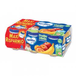 Mellin - Mellin Omogeneizzato Frutta Mista 100 G 2 Pezzi - 908890825