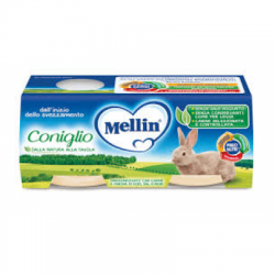 Mellin - Mellin Omogeneizzato Coniglio 2 X 80 G - 927288530