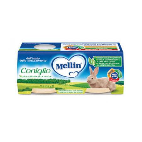 Mellin Omogeneizzato Coniglio 2 X 80 G