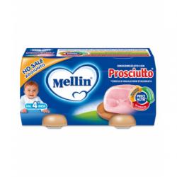 Mellin - Mellin Omogeneizzato Prosciutto 2 Pezzi X 80 G - 927463113