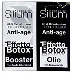 Silium - Silium Kit Effetto Botox Olio + Booster 2 Bustine 12 ml - 971050531
