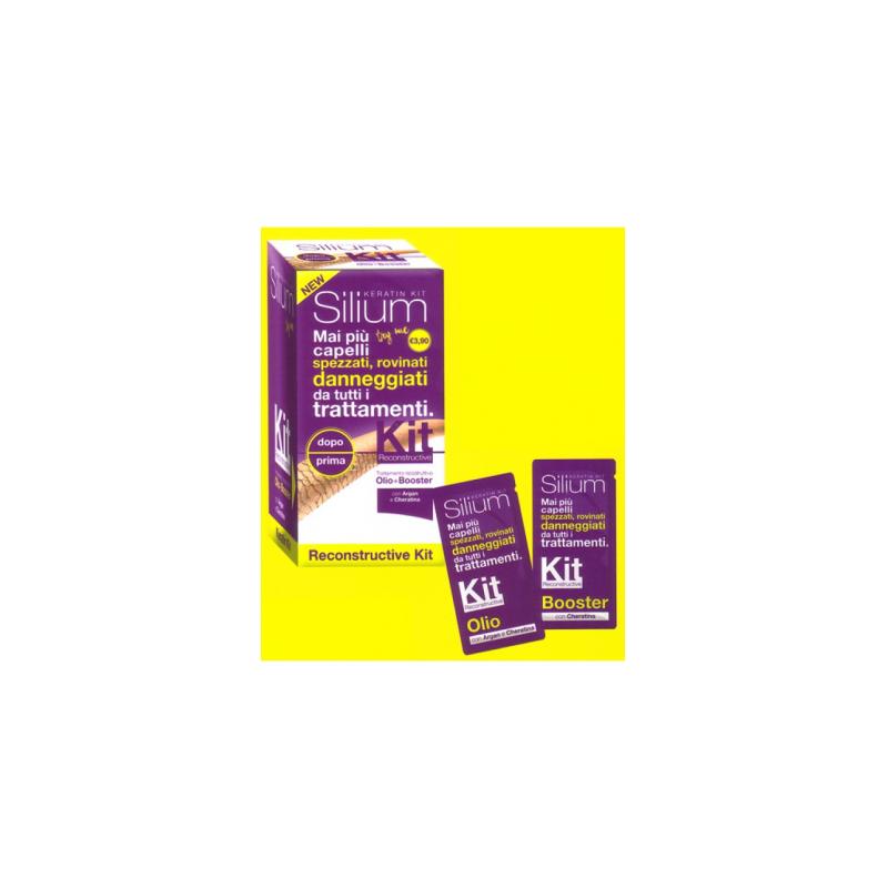 Silium - Silium Reconstructive Con Cheratina & Argan 2 bustine - 971050529