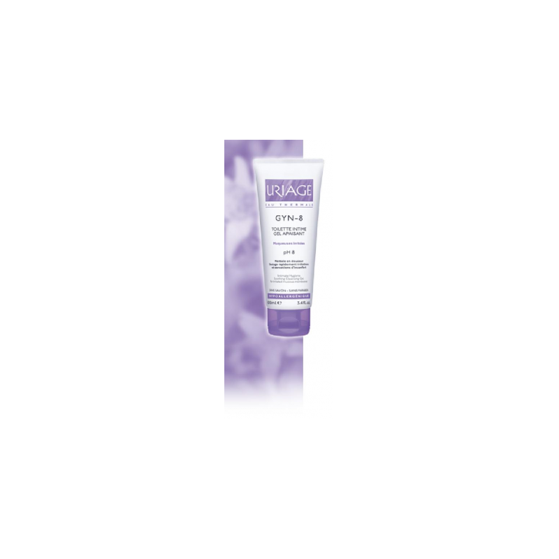 Uriage Gyn-8 Igiene Intima Detergente Gel 100 ml