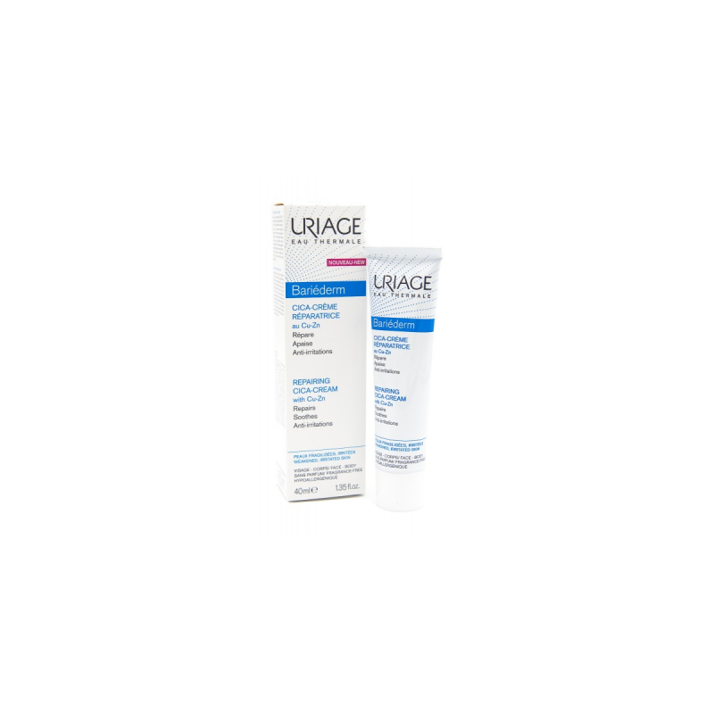 Bariederm Cica-crema 依泉舒缓修复霜40 ML cica绷带霜修护肌肤