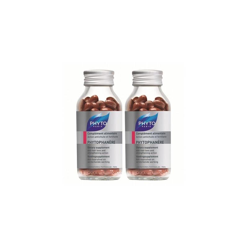Phyto - Phyto Phytophanere Integratore Alimentare Capelli/unghie Capsule 1 +1 Flacone 50 2 Pezzi - 925205256