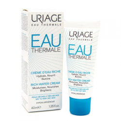 Uriage - Eau Thermale Crema Ricca Acq 40 Ml - 971811272