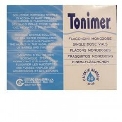 ISTITUTO GANASSINI SPA - Lavaggio Nasale Tonimer Lab Fluido Monodose 30 Flaconcini 5 Ml - 904926348