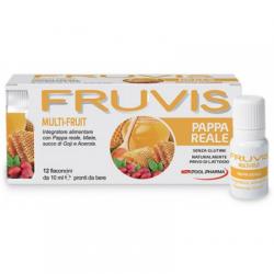Fruvis - Fruvis Multi-fruit Pappa Reale 12 Flaconcini Da 10 Ml - 935839098