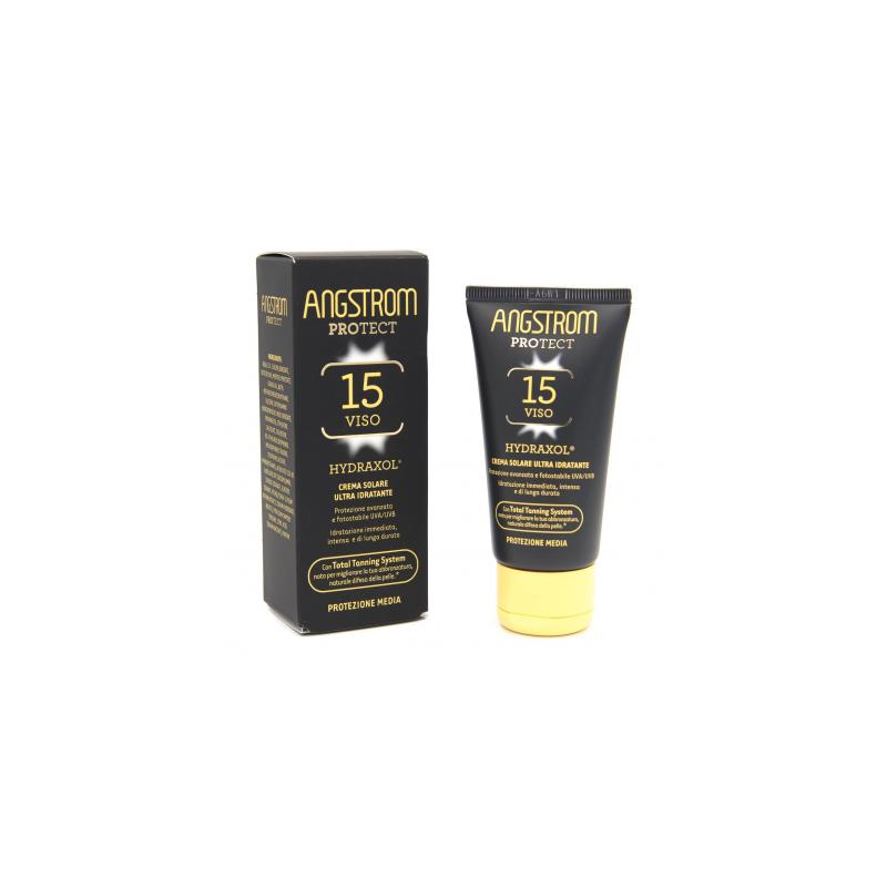 Angstrom - Angstrom Protect Hydraxol Crema Solare Protezione 15 50 Ml - 971485901