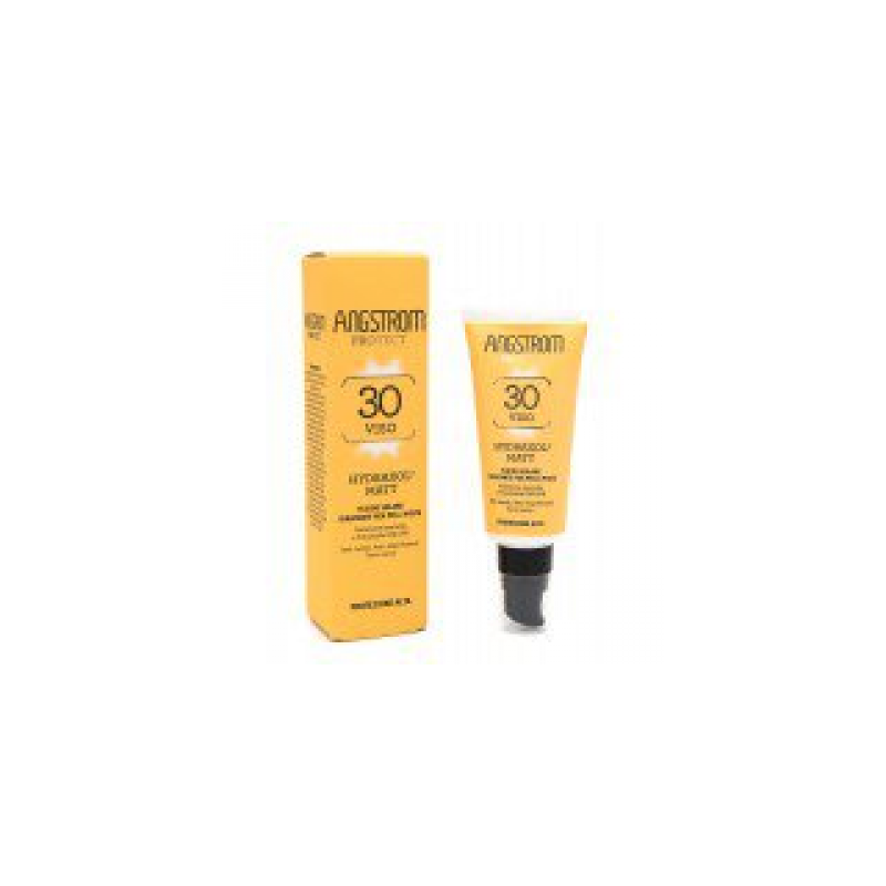Angstrom - Angstrom Protect Hydraxol Matt Fluido Solare Protezione 30 40 Ml - 971485937